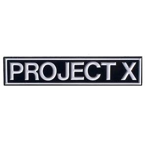 Project X 'Logo' Enamel Pin