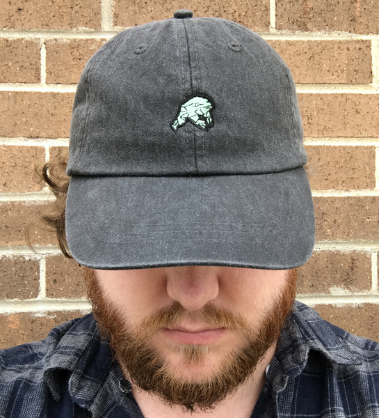 Embroidered Frog Hat