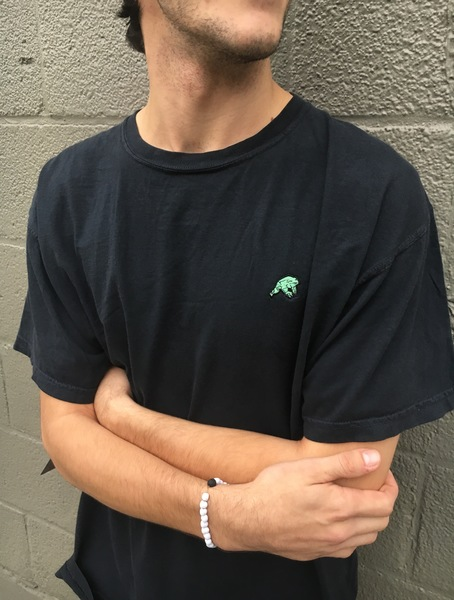 Embroidered Frog Tee