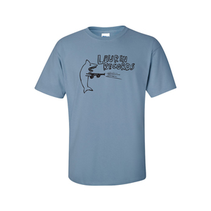 Lauren Records - Shark Shirt (Stone Blue)