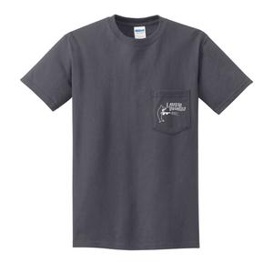Lauren Records - Logo Pocket Shirt (Charcoal Grey)