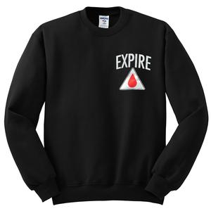 Expire 'Leave This Earth' Crew Neck Sweatshirt