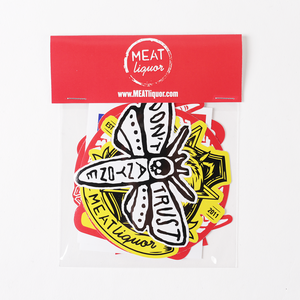 MEATliquor Sticker Packs