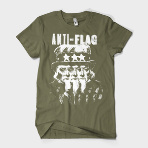 Anti-Flag - uncle sam t-shirt