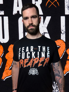 Fear The Reaper - T-Shirt - black