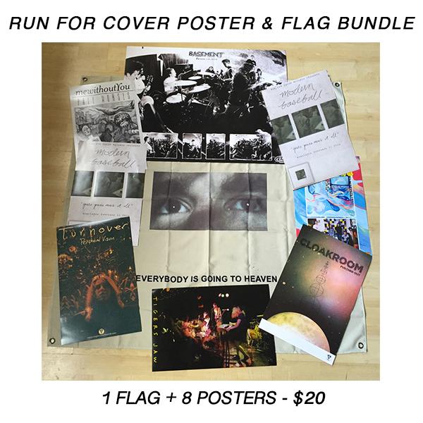 Poster Tube + Flag Pack - 8+ Posters & 1 Flag
