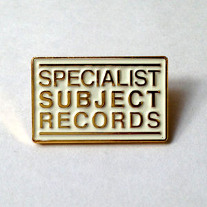 Specialist Subject Logo enamel pin badge