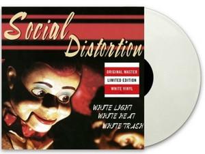 Social Distortion - White Light White Heat White Trash [LP] (150 Gram, White Colored Vinyl)