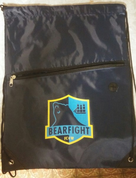 Bearfight FC Logo Drawstring Bag