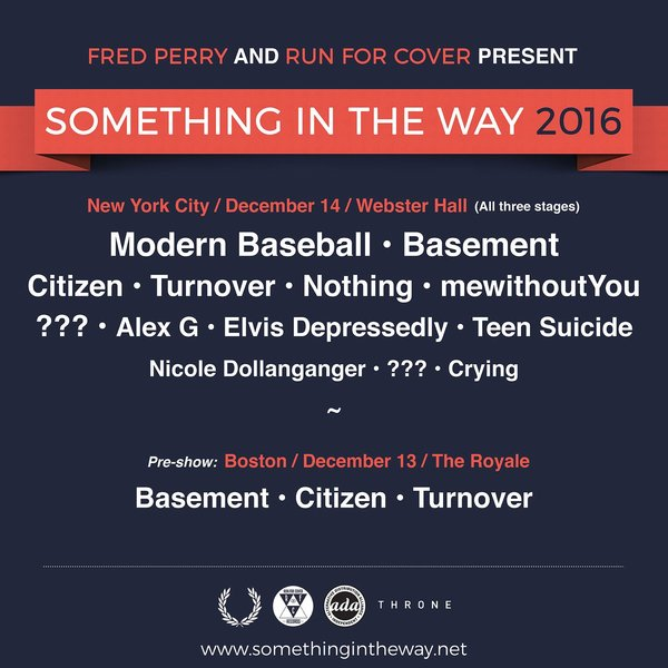 Something in the Way Festival 2016 - Tickets