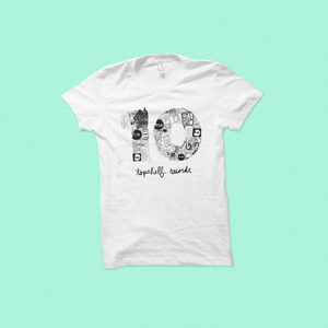 Topshelf Records - 10th Anniversary Shirt (White)