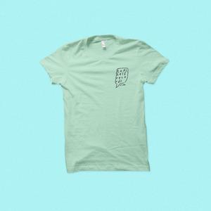 Topshelf Records - Hand Drawn Logo Pocket Print Shirt (Mint)