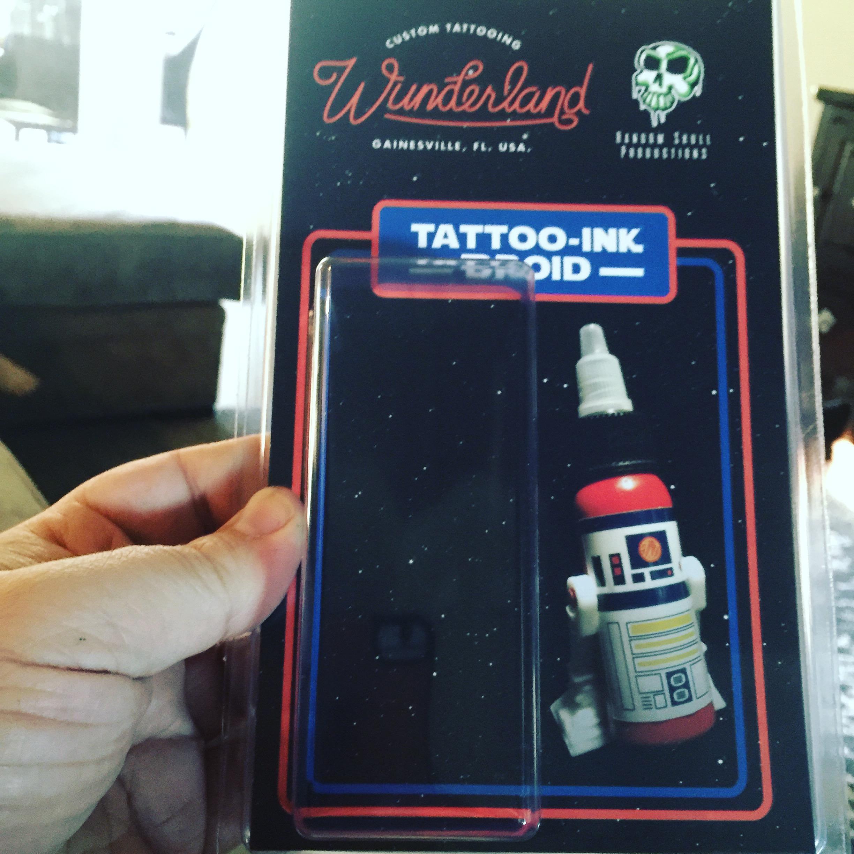 Droids From Tattoo Ink  X  Random Skull Productions  X  Wunderland Custom tattoo
