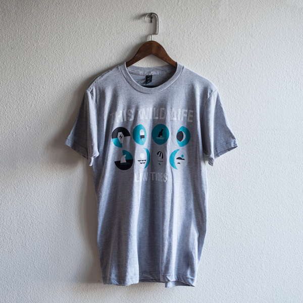 Grey Icons T-Shirt