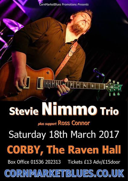 Stevie Nimmo Trio + Ross Connor