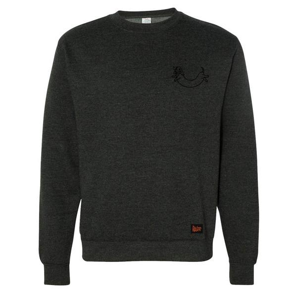 BSM 2016 Embroidered Sweatshirt - Charcoal / Blue - PRE-ORDER