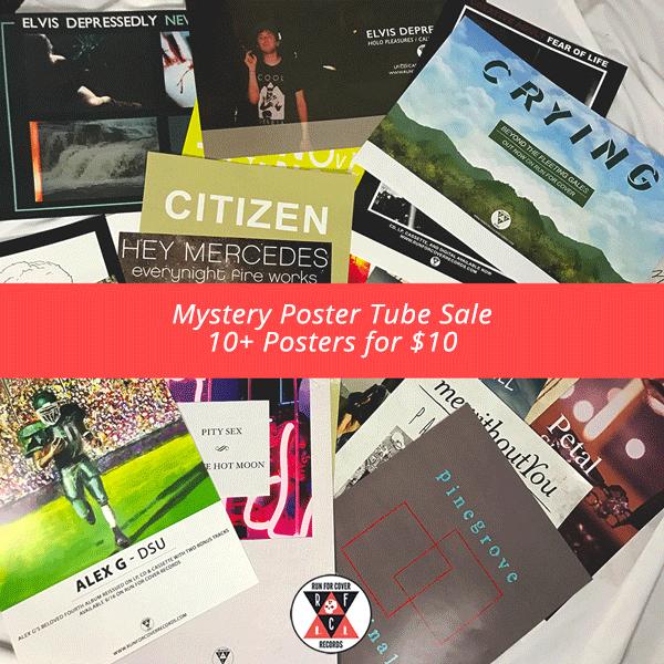 Mystery Poster Tube (8+ Random RFC posters)