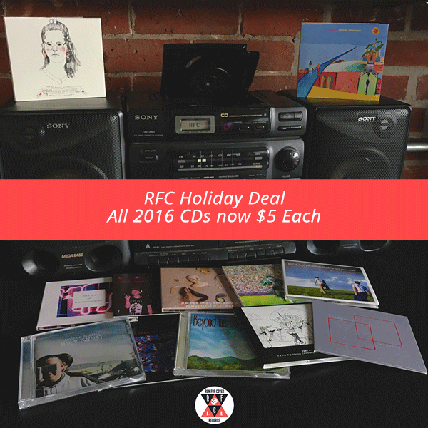 RFC Holiday Sale 2016 - All 2016 CD Releases $5