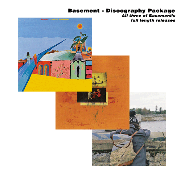 Basement Bundle - Promise Everything, Colourmeinkindness & I Wish I Could Stay Here LP/CS