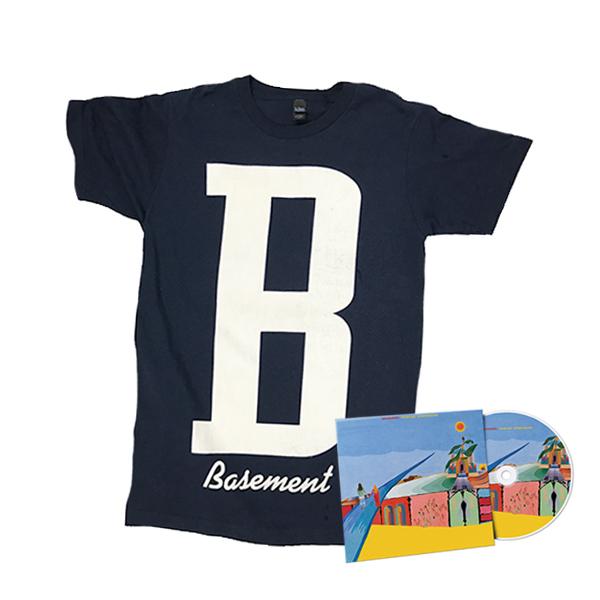 Basement Bundle - B Shirt & Promise Everything CD
