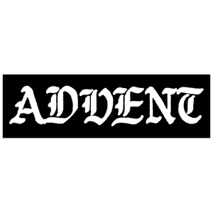 Advent 'Logo' Sticker