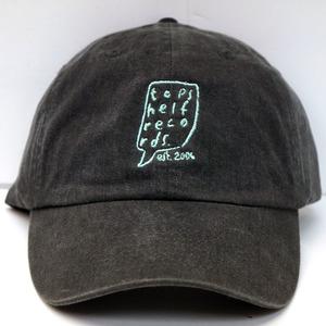 Topshelf Records - Black Embroidered Logo Baseball Hat
