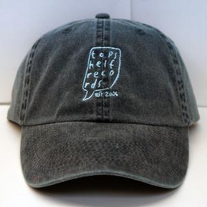 Topshelf Records - Navy Embroidered Logo Baseball Hat