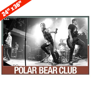 Polar Bear Club 'Live' Poster