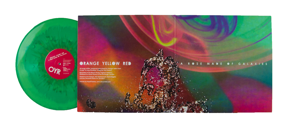 Saint Marie Records Orange Yellow Red A Rose Made Of