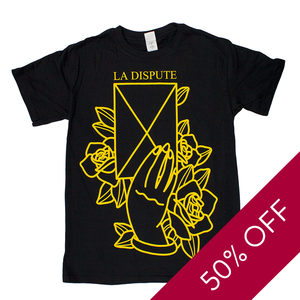 Letter - Black T-Shirt