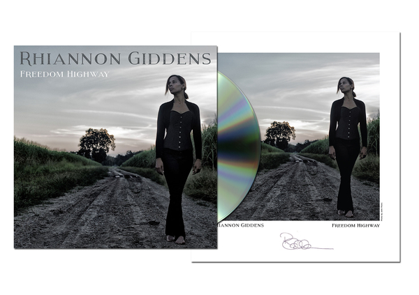 Freedom Highway CD + Limited Edition Signed Poster + Digital Album Download
