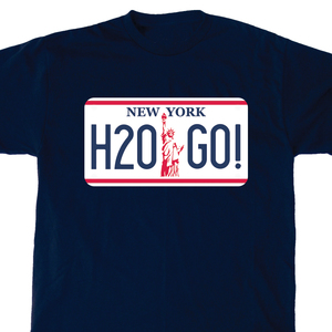 H2O 'License Plate' T-Shirt