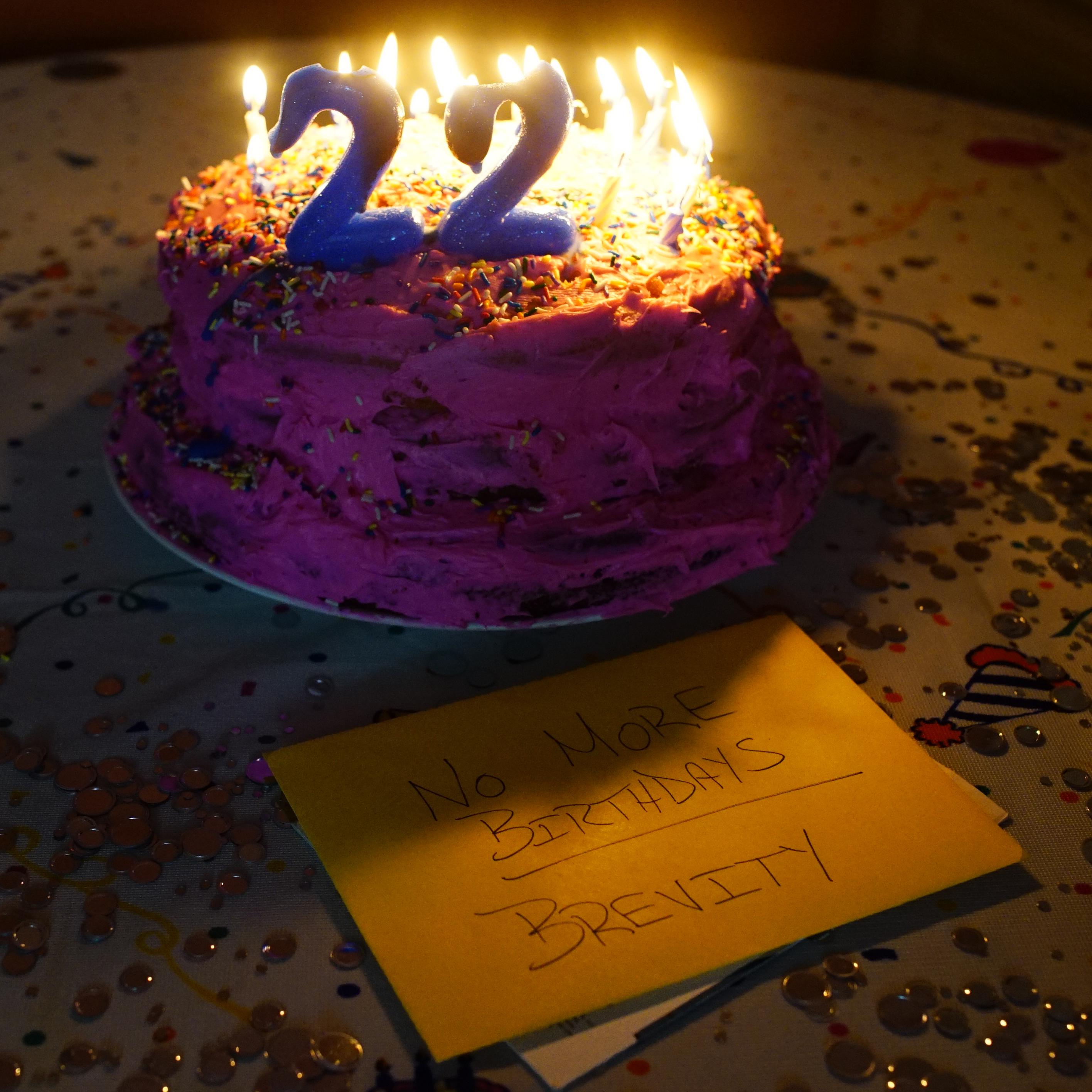 Brevity - No More Birthdays