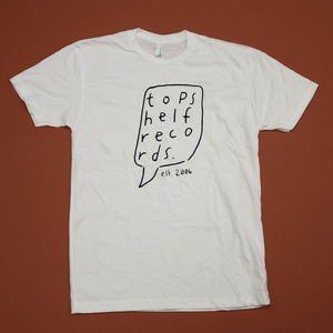 Topshelf Records - Hand Drawn Logo (White)