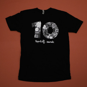 Topshelf Records - 10th Anniversary Shirt (Black)