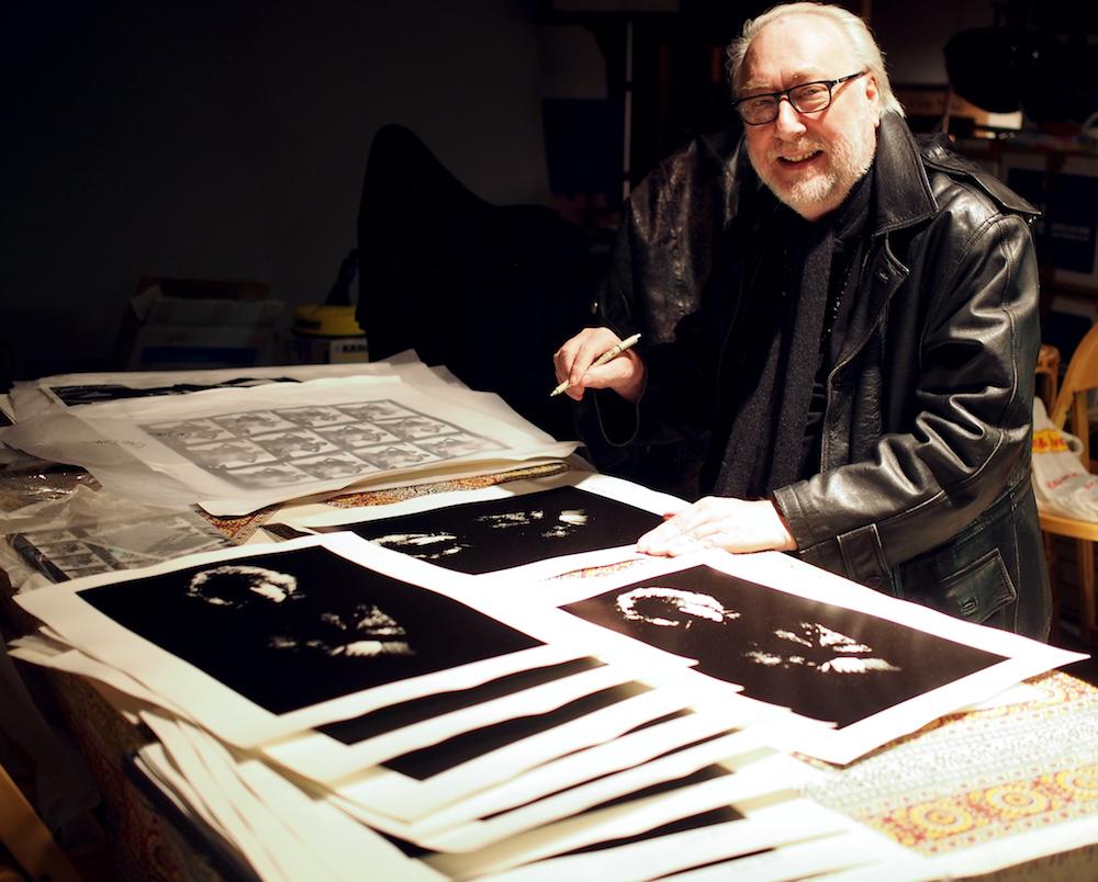 Fine Art Photographic Print: Chris Dreja (1967) - Jimmy Page