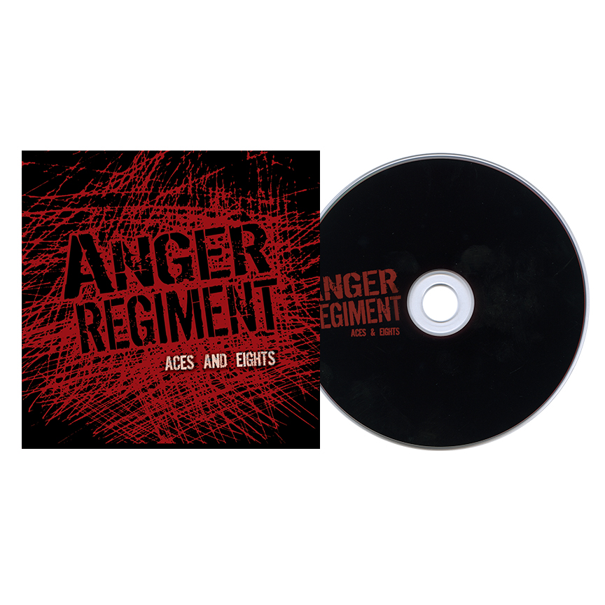 Buy Anger Regiment Aces And Eights At Bridge Nine Records