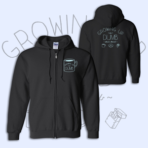 Growing Up Is Dumb - Zip Up Hoodie