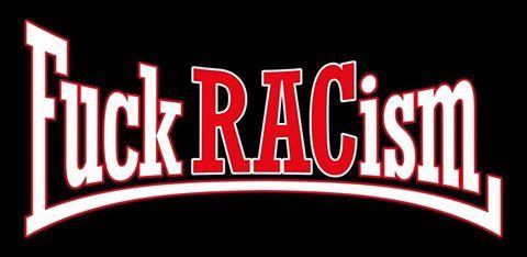 Fuck Racism Vinyl Sticker 3