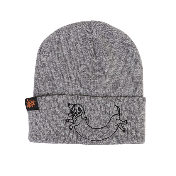BSM Logo Beanie - Red / Grey