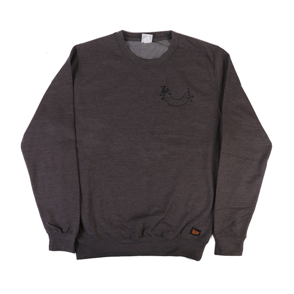 BSM 2016 Embroidered Sweatshirt - Charcoal / Blue