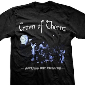 Crown Of Thornz 'Live Photo' T-Shirt