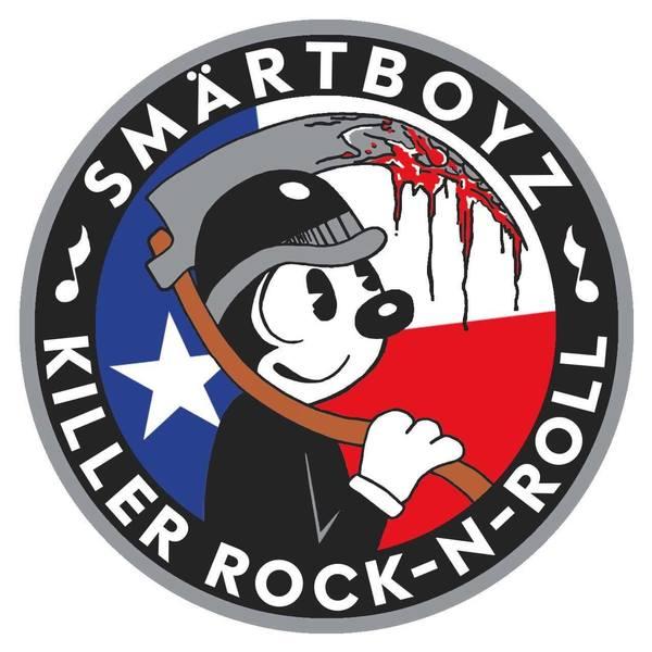 SmärtBoyz - Killer Rock N Roll 3.5 Inch Patch
