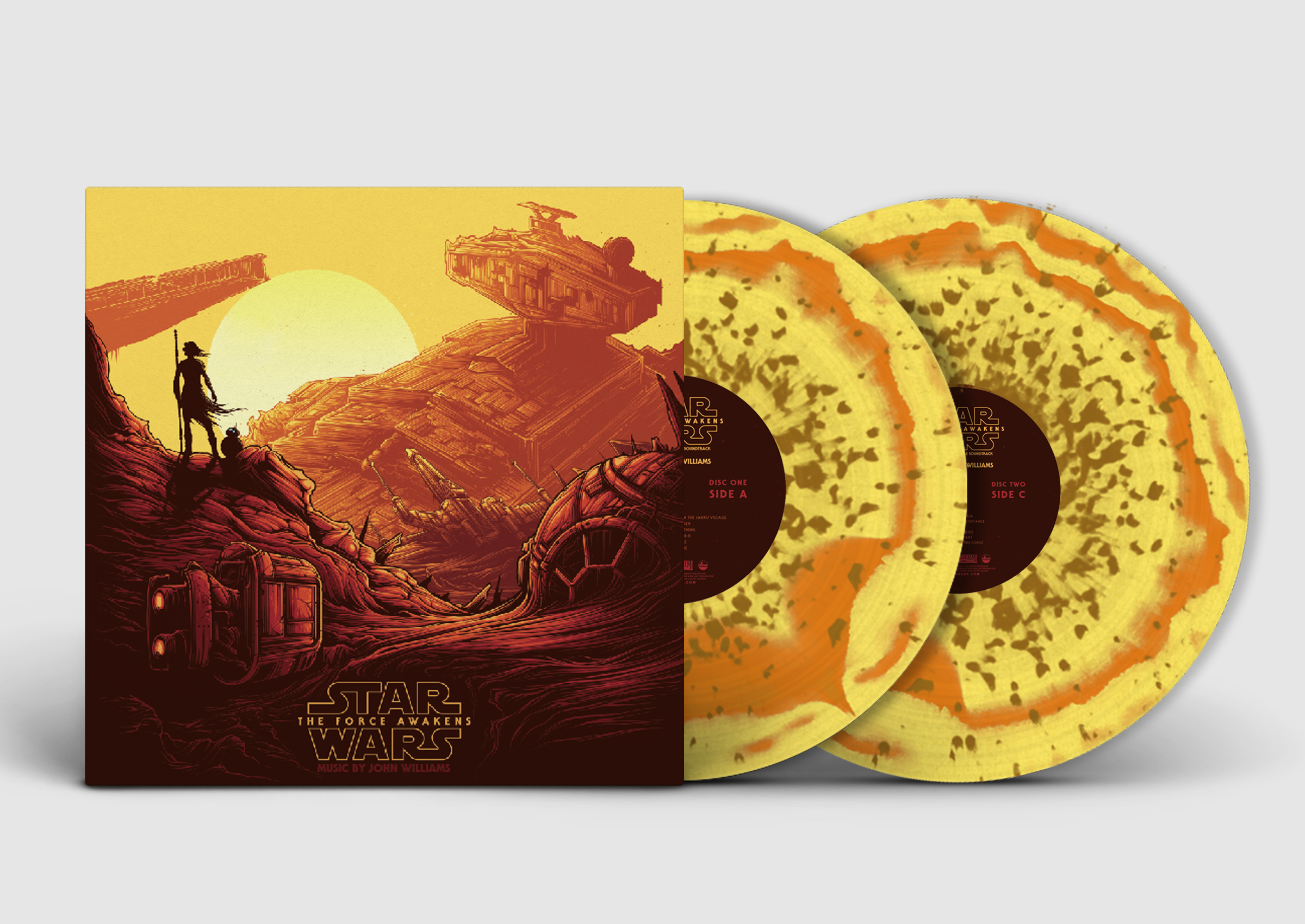 Star Wars Episode 7: The Force Awakens - Original Motion Picture Soundtrack (Collector's Edition)  REY
