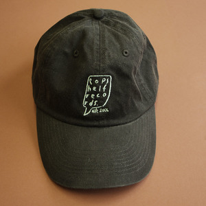 Topshelf Records - Black Embroidered Logo Baseball Hat