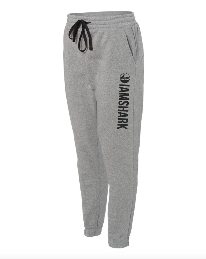 Grey Logo Jogger Pants