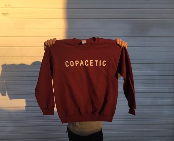 Copacetic Crewneck Sweatshirt - Maroon