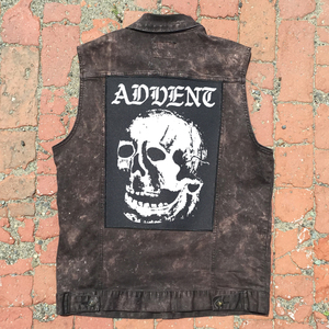 Advent 'Skull' Back Patch