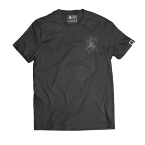 Glory Kid - In Bloom T-shirt (Black w/Grey)