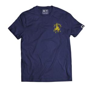 Glory Kid - In Bloom T-shirt (Deep Royal w/Gold Yellow)